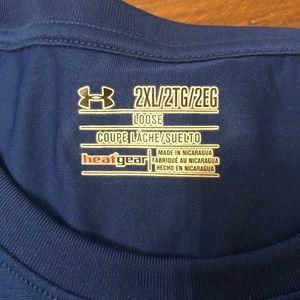 Under Armour Shirts - Men's XXL long sleeve Heatgear shirts